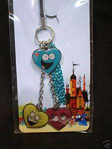 Fosters Home Imaginary Friends Hearts Cell Phone Charm