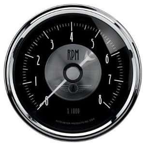 Auto Meter 2096 3 3/8 Tachometer, 0 8,000, Prestige Black
