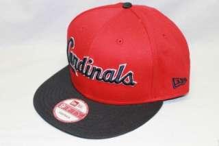 ST. LOUIS CARDINALS NEW ERA NCAA SNAPBACK HAT CAP REVERSE