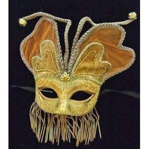 Angel Wings Orange Mardi Gras Halloween Costume