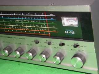 Realistic DX 160 Short Wave Radio Receiver 03C