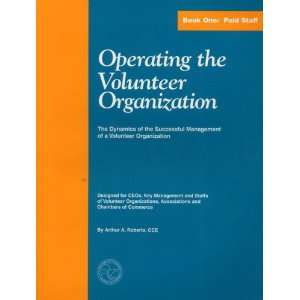 Management of a Volunteer Organization, Book One Paid Staff) CCE