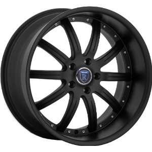 x8.5 20x10 Mercedes Benz C E S Class Wheels Rims Matt Black 4pc 1set