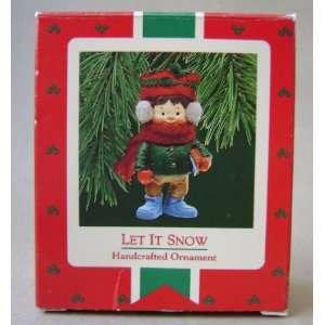 Hallmark Seasoned Greetings Let It Snow Christmas Tree