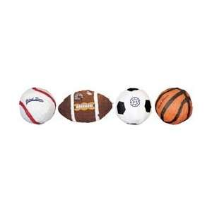 Ya Otta Pinata Assortment Sports P20002; 4 Items/Order