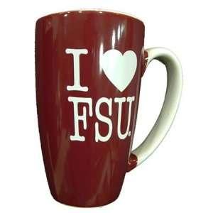 Florida State Seminoles Tch I Hrt Fsu Coffee Mug Sports