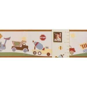 Stop and Go   Wall border 10 Yards Baby