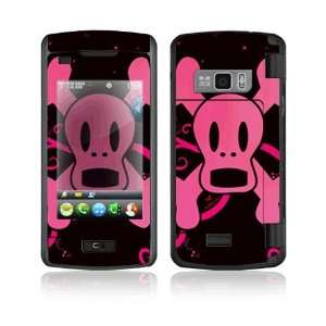 Pink Screaming Crossbones Decorative Skin Cover Decal