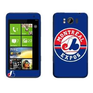 Meestick Montreal Expos Vinyl Adhesive Decal Skin for HTC