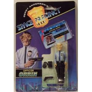 Officer Orrin Action Figure   Gerry Andersons Space