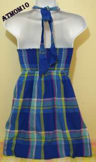NWT Gilly Hicks by Abercrombie Women Dress Blue XS