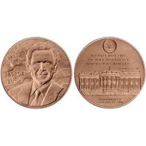 George W Bush Bronze Medal Everything Else