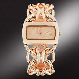 fashion jewelry sale elegant girls lady women rose gold wrist watch