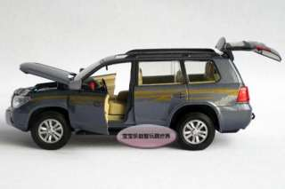 New 1:32 Toyota Land Cruiser Diecast Model Car With Sound&Light Blue