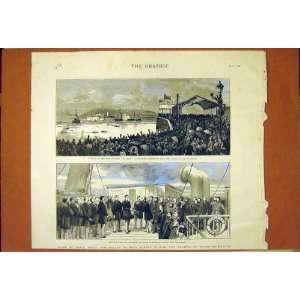 Prince Albert Victor George Wales Dublin Ireland 1887