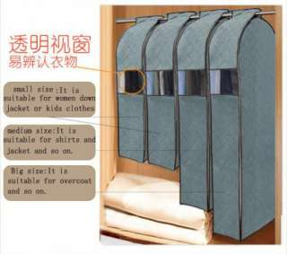 Pick 1X Bamboo charcoal Clothes Suit Dress Garment Dustproof Storage