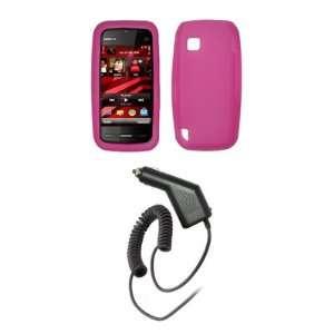 Nokia Nuron   Premium Hot Pink Soft Silicone Gel Skin Cover Case