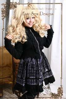 Hoody Trench Cat Dress Jacket Belted Coat Sparkly Gothic Print