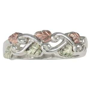 Grape Vine Black Hills Silver Womens Ring from Coleman   Size 6