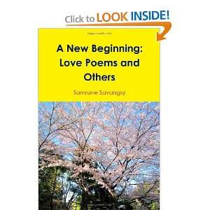 A New Beginning Love Poems And Others (9781257646135