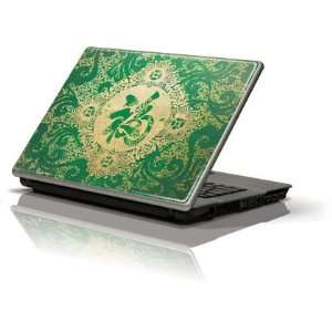 Green Chinese character skin for Apple MacBook 13 inch