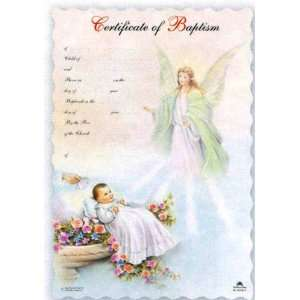 Certificates in Spanish, Guardian Angel   4.5 x 7 Office Products