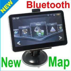 Car GPS NAVI BLUETOOTH FM TOUCH MP3 MP4 2G New Map: GPS & Navigation