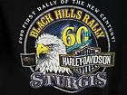 Vtg 84 STURGIS RALLY Motorcycle RINGER Biker T Shirt M
