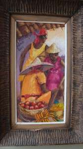 Oil Painting by Petion Savain Haiti Hatian Artist Signed Original