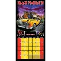 Iron Maiden 2012 Calendar   NEW BT