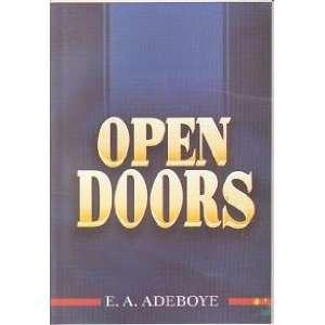 Open Doors (9789783855106): E A Adeboye: Books