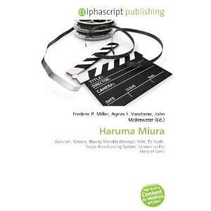 Haruma Miura (9786133762510): Books