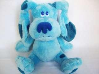 TY Beanie Buddies BLUES CLUES Blue Puppy DOG Plush 9