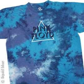 New PINK FLOYD Tie Dye T Shirt