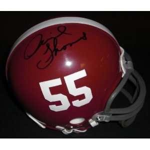 Derrick Thomas Autographed Alabama Crimson Tide Mini
