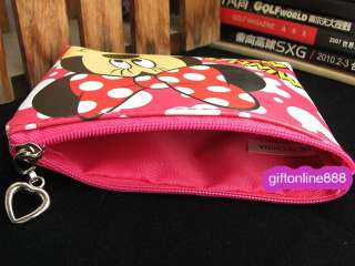 Disney Minnie Mouse set coin pouch purse bag MMB 01