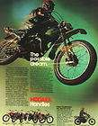 1972 1975 ? Hodaka Super Rat MX 100 Motocross Brochure