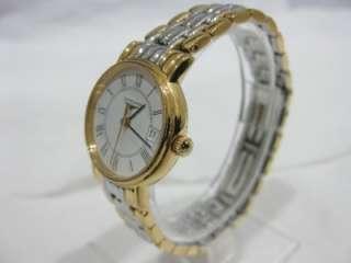 , Gold & Steel Case & Bracelet Ladies Watch, Quartz, MINT