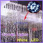 110V 300 Led Curtain light String fr Wedding Christmas Home Party
