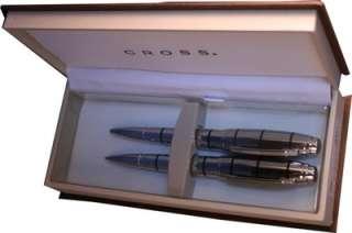 CROSS Dubai Chrome pen/pencil set AT0271 1
