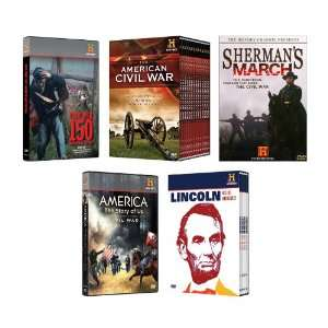 History Channel Civil War DVD Set