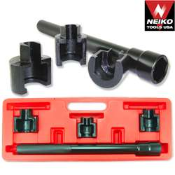 rod socket services both old and new style inner tie rods for use on