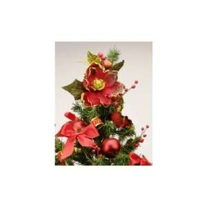 Simply Home 2 1/2 ft. Decorated Christmas Tree   Red