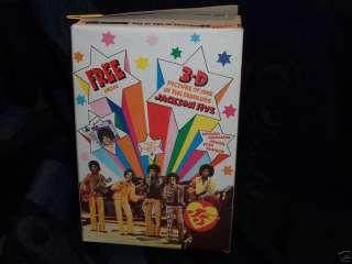 1970 MICHAEL JACKSON 5 CEREAL BOX 3D CARD PREMIUM FIVE