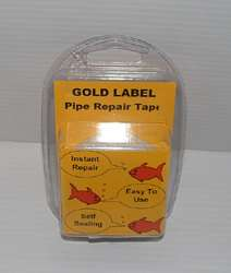 GOLD LABEL PIPE REPAIR TAPE. Easy to use. Instant.