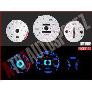 96 97 98 99 00 Honda Civic EX / LX AT INDIGLO EL GAUGES