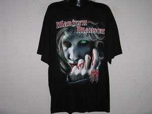 NEW MARILYN MANSON MM METAL ROCK MENS T Shirt Size L
