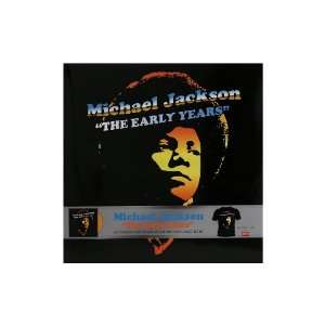Michael Jackson the Early Years Collectible Vinyl And T
