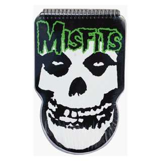 MISFITS fiend skull die cut notebook 120 pages:  Sports