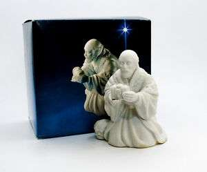 Avon Nativity The Magi Melchior Porcelain Figurine VTG